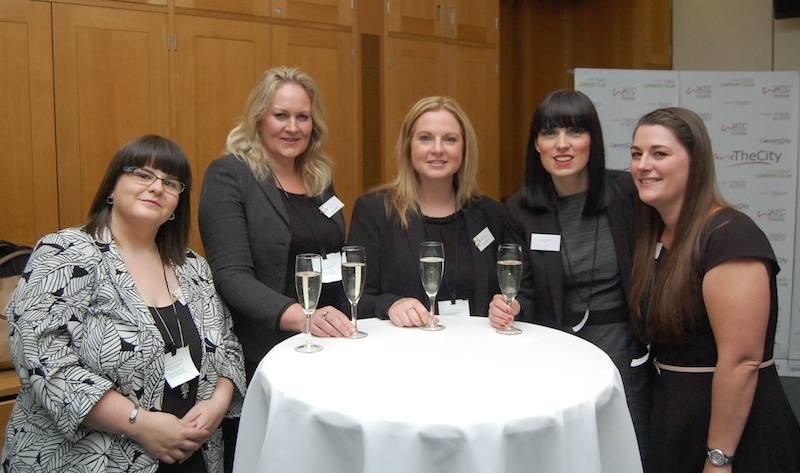 Award winners and supporter and Chantelle Akerman