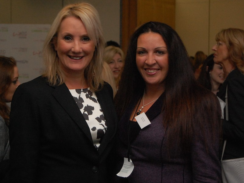 Caroline DinenagCaroline Dinenage MP and Vanessa Vallelye MP and Vanessa Vallely